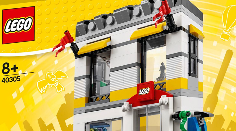 LEGO Brand Store (40305) Now Found in Flagship US Stores and Available on shop.LEGO.com