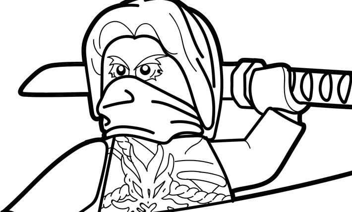 LEGO Ninjago Coloring Page – Morro
