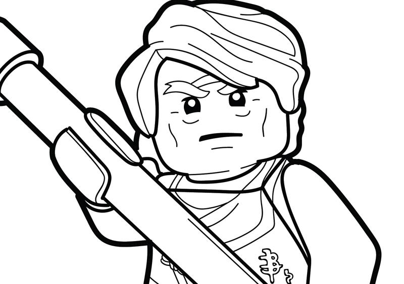 LEGO Ninjago Coloring Page – Sensei Garmadon
