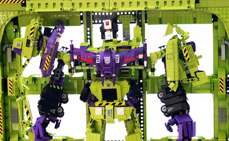 Custom LEGO Transformers Devastator