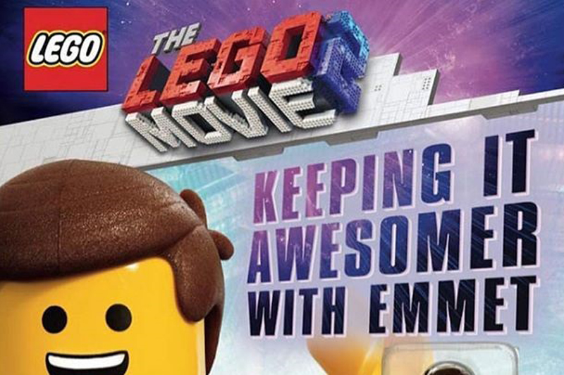 LEGO Movie 2 Keeping It Awesomer With Emmet Book Reveals Exclusive Emmet Minifigure