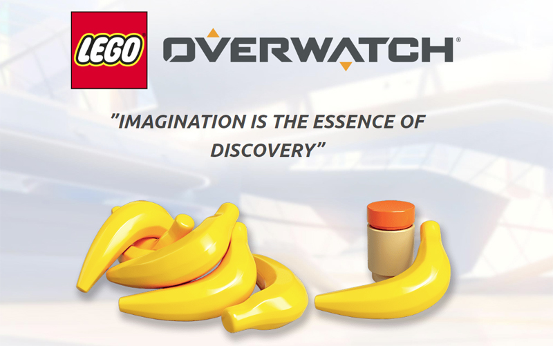 Are We Soon To Have a LEGO Overwatch Winston Bigfig?