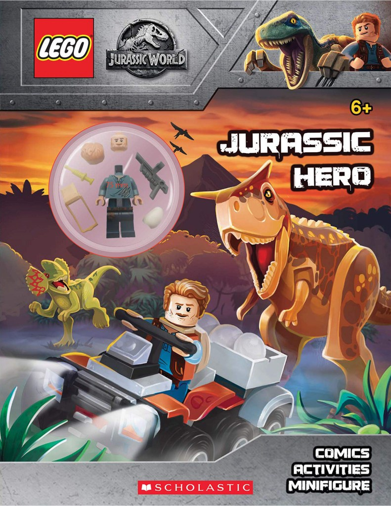 LEGO Jurassic World Activity Book