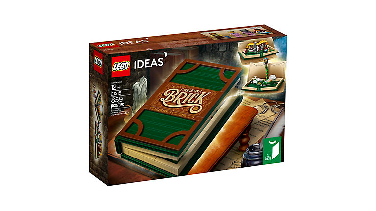 "LEGO Ideas Pop-Up Story Book (21315) Discounted in Amazon, Days After ""LEGO Fold"" Parody Ad"