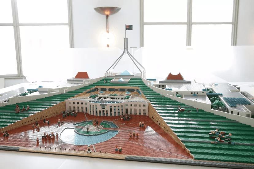 LEGO Australian Parliament House MOC