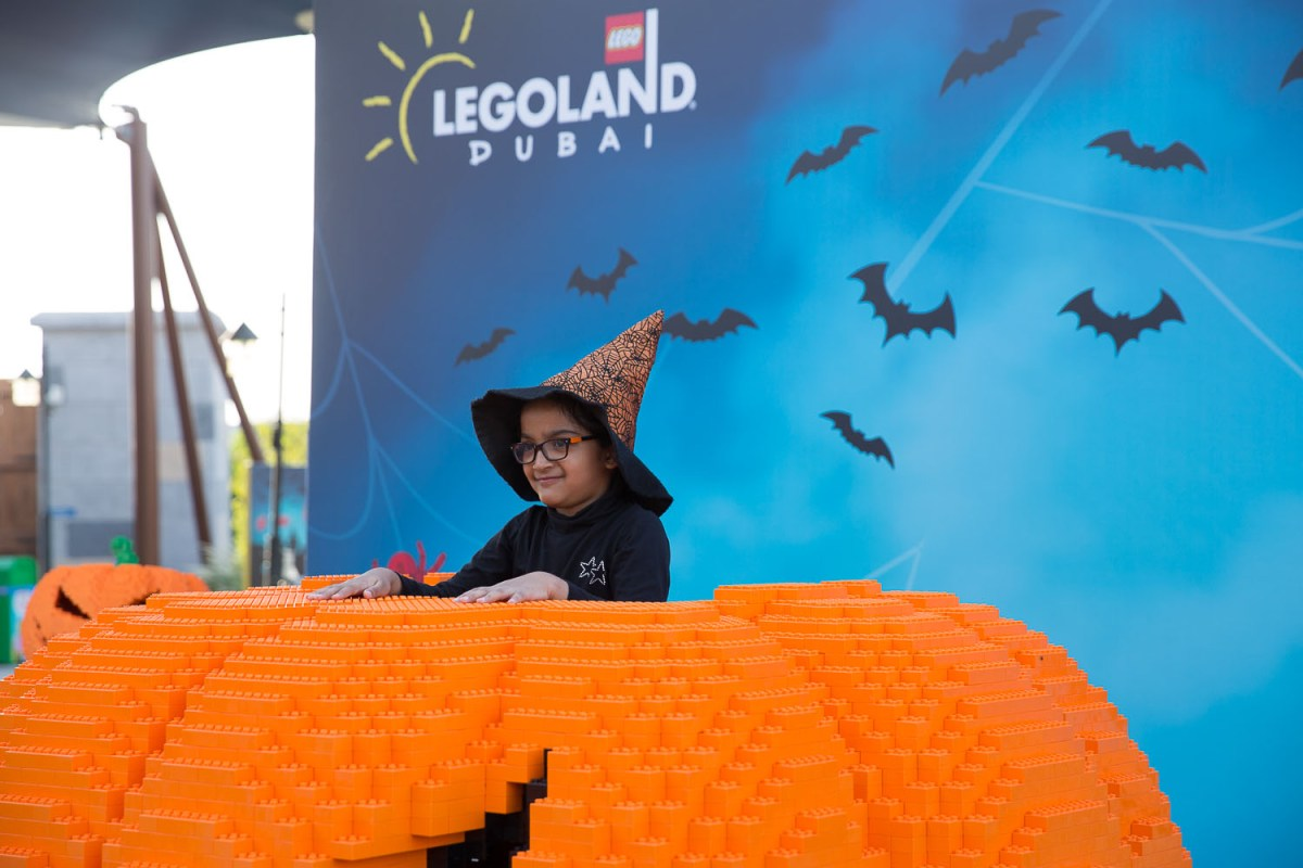LEGOLAND Dubai Brick or Treat Offers Exclusive LEGO Brick Souvenir