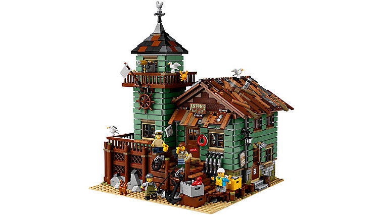Missed LEGO's Black Friday Deal for Retiring Ideas Set Old Fishing Store (21310)? Amazon Still  Has Sale for It