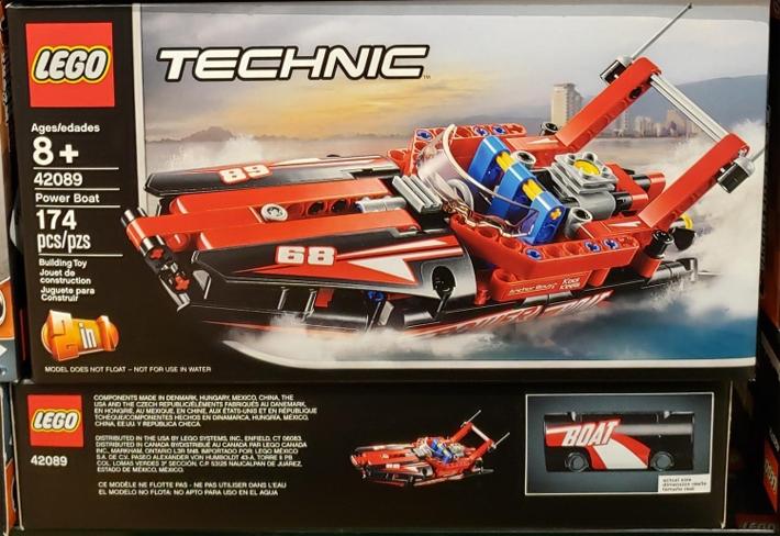Power Boat 42089 Speelgoed En Spellen Lego Technic