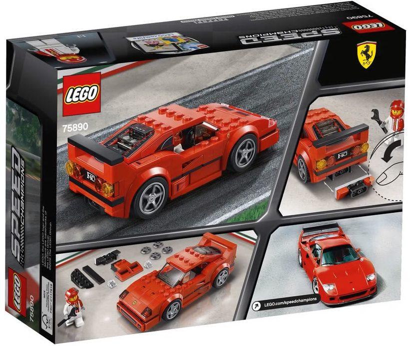 a look at the lego speed champions ferrari f40. Black Bedroom Furniture Sets. Home Design Ideas