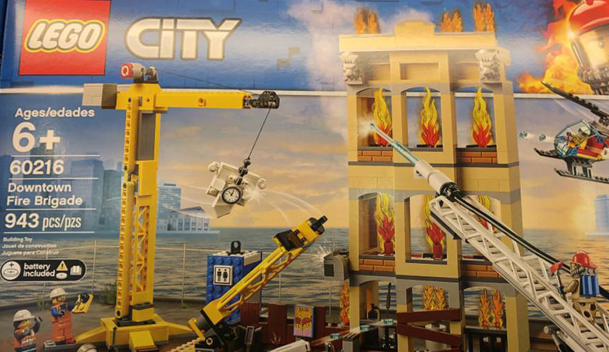 SPOTTED: 2019 LEGO City Sets Now Available in Canada