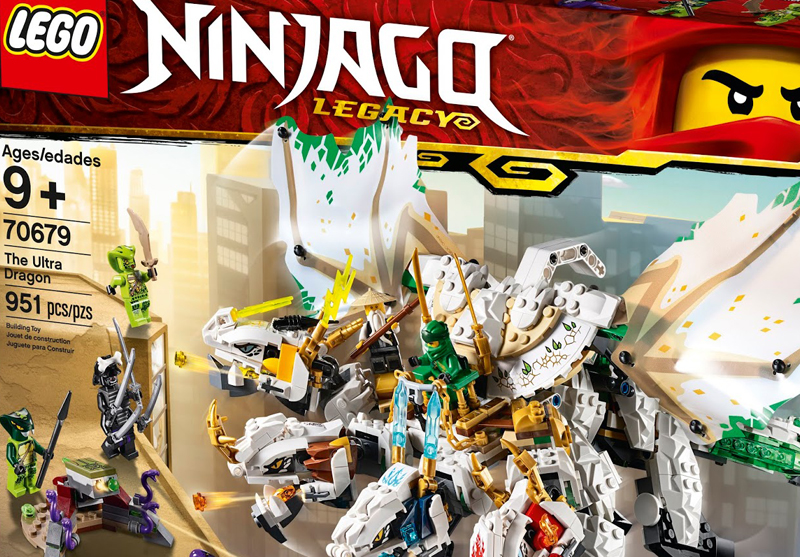 More 2019 LEGO Ninjago Legacy Official Images Released – Ultra Dragon (70679) Revealed