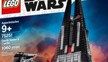 LEGO Star Wars Darth Vader's Castle (75251) Revealed!