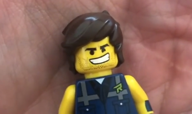 LEGO Rex Dangervest Minifigure