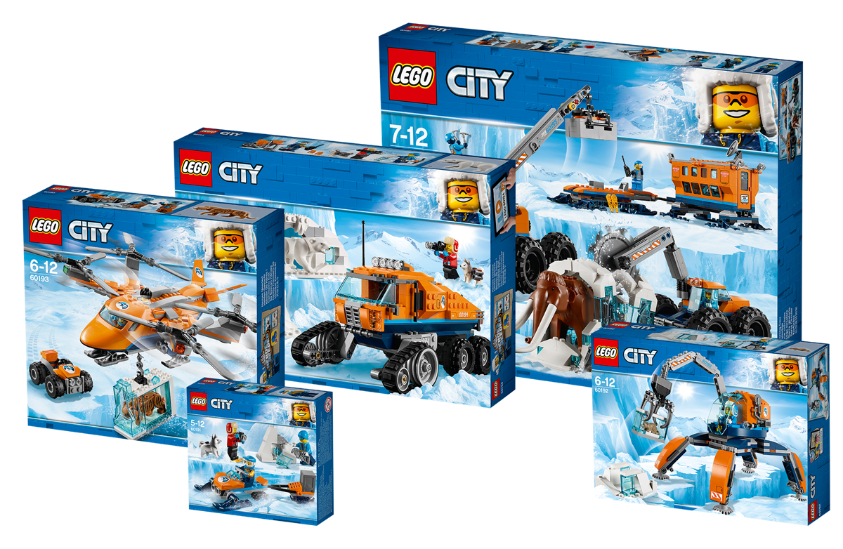 UK's LEGO Shop@Home Offers LEGO City Adventures in the Arctic Bundle (5005749)