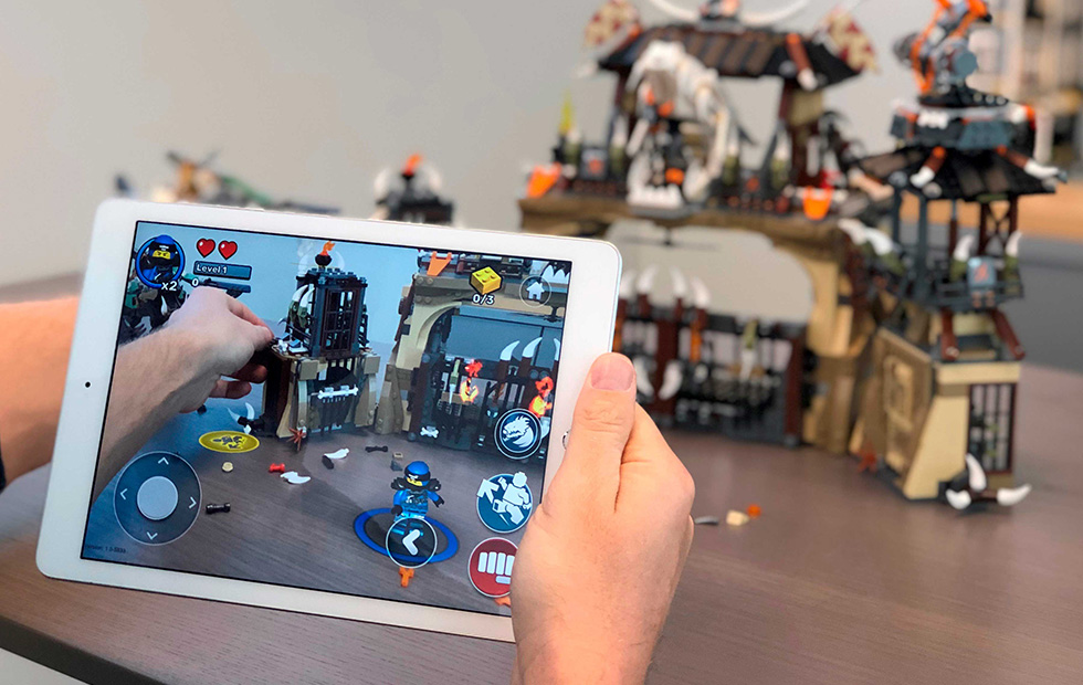 LEGO Launches the ARKit2-Powered LEGO Playgrounds App – Now Available at the App Store