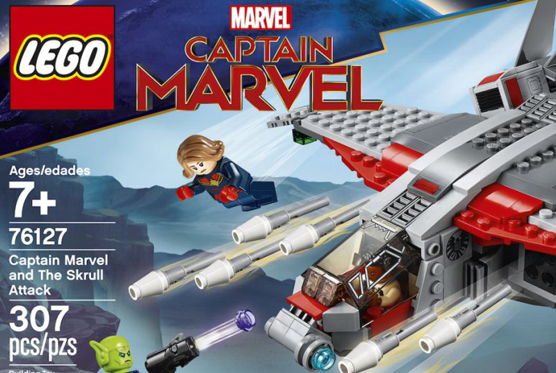 Captain Marvel and the Skrull Attack (76127)