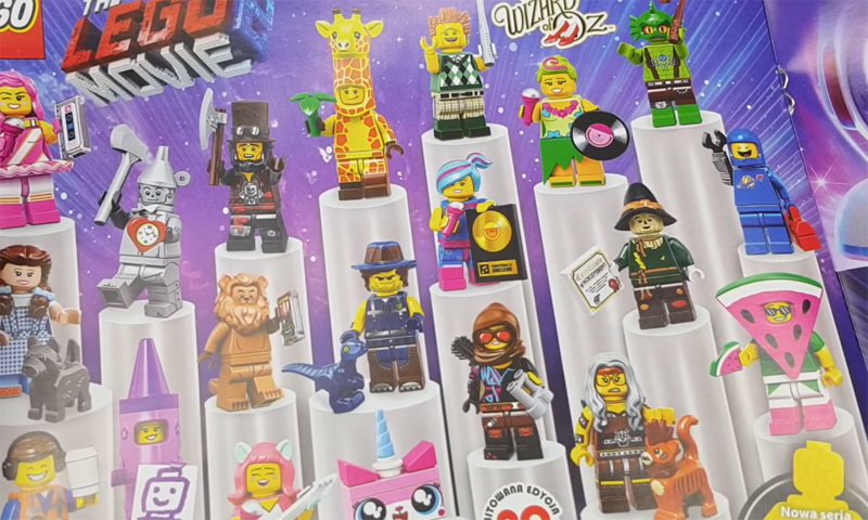 The LEGO Movie 2 Collectible Minifigure Series (71023) Revealed!