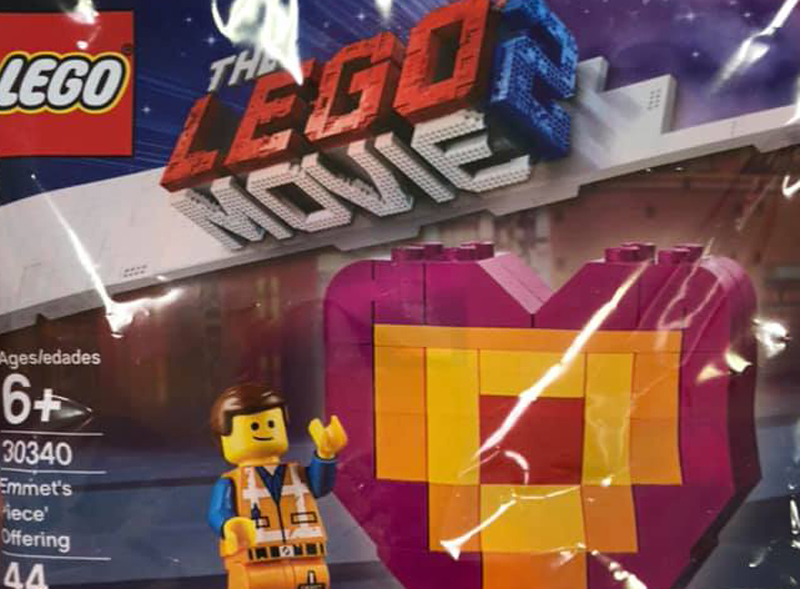 "LEGO 30340 LEGO Movie 2 Polybag EMMET/'S /""PIECE/"" OFFERING 44 PCS"