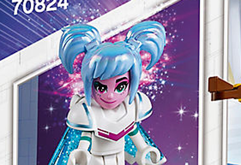 The LEGO Movie 2's Sweet Mayhem Alternate Figure Revealed