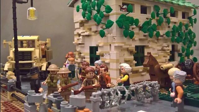 Madrid LEGO Exhibit