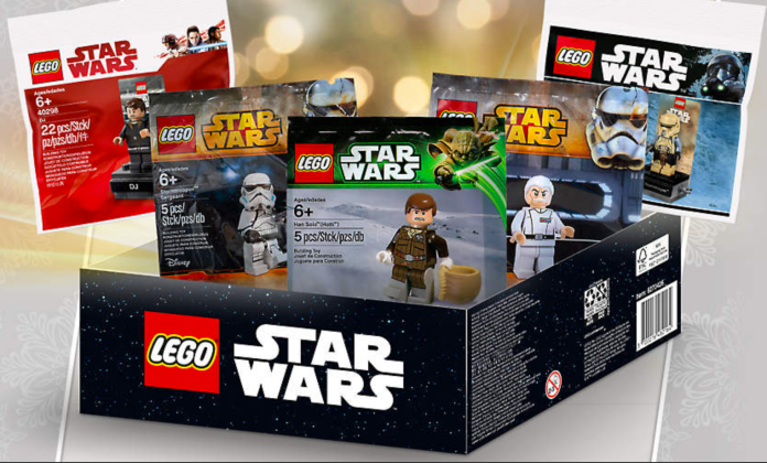 Minifigures Galore in Shope@Home's LEGO Star Wars Box (5005704) Promo