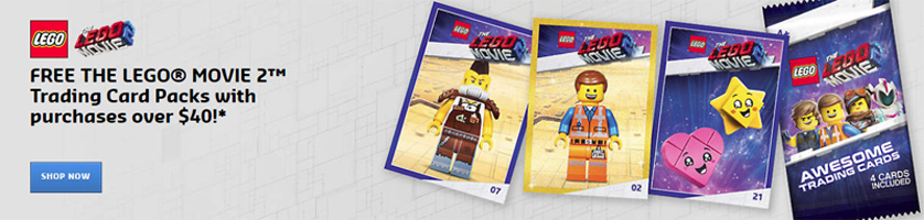 The LEGO Movie 2 Trading Cards Promotional Now Live