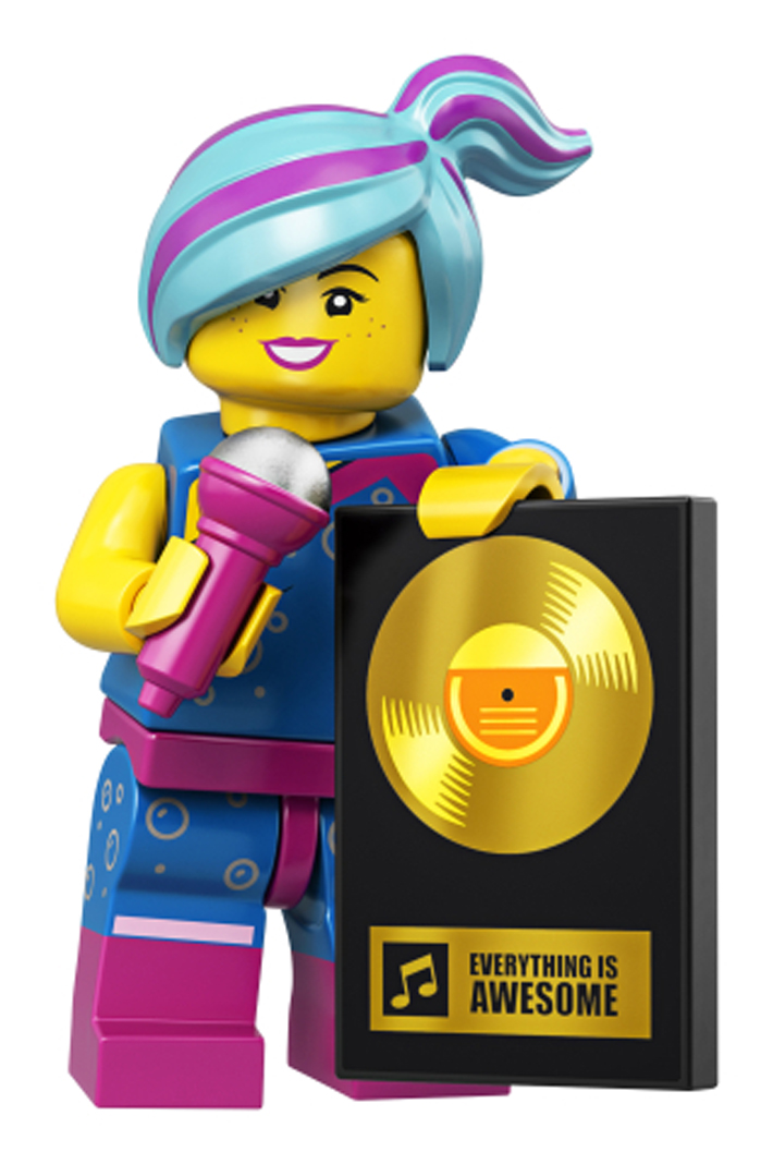 coltlm2-2 NEW LEGO Battle-Ready Lucy FROM SET 71023 THE LEGO MOVIE 2