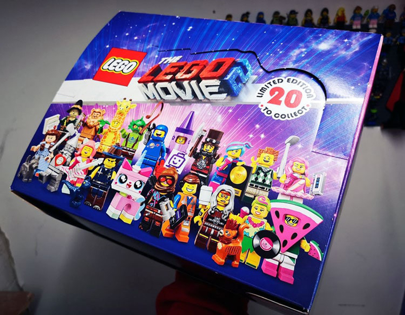 LEGO Movie 2 Collectible Minifigures (71023) Box Distribution