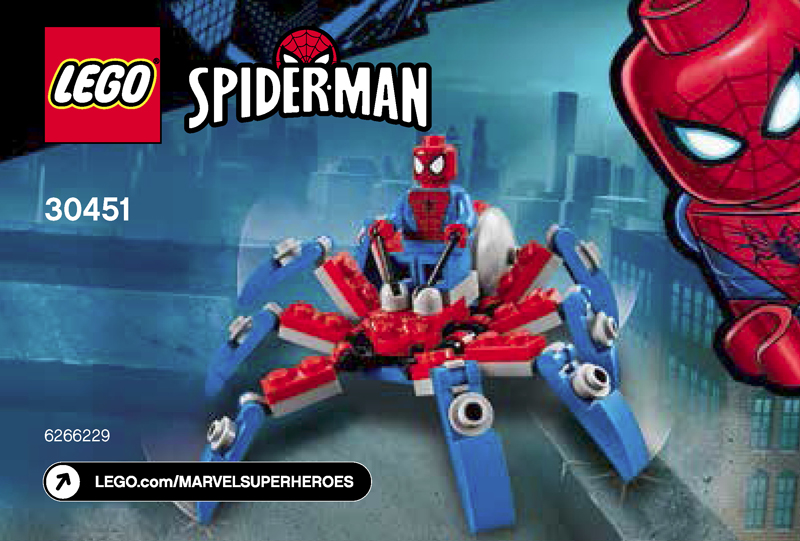 LEGO Marvel Superheroes Spider-Man's Mini Spider Crawler (30451) Polybag Revealed