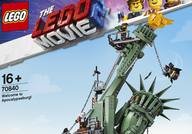 LEGO Movie 2 Welcome to Apocalpyseburg, and Collectible Minifigures Now Available