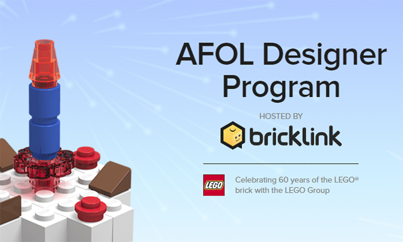 AFOL Designer Program Finalists