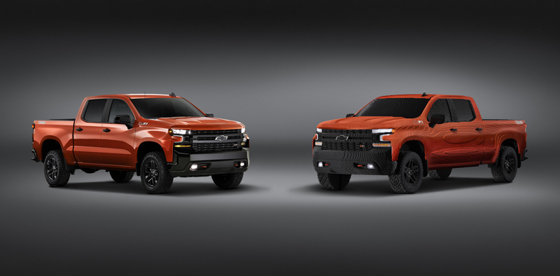 LEGO Teams Up With Chevrolet Once Again to Create the First Life-Sized, Custom LEGO Chevy Silverado MOC