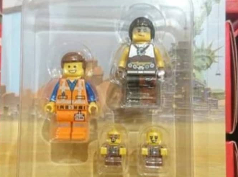 SPOTTED: The LEGO Movie 2 Sewer Babies Minifigures