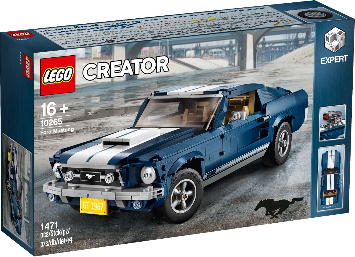 Designer Video for LEGO Creator Ford Mustang (10265) and Other Extras to be had with Purchase