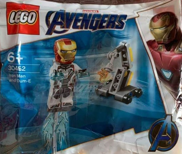 "LEGO ""Avengers: Endgame"" Polybag (30452) Reveal Sees Return of Funny Iron Man ""Supporting Character"""