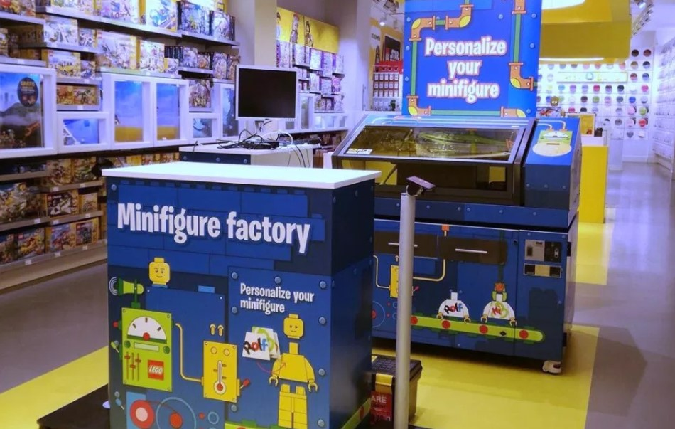 First Official LEGO Minifigure Factory Launched in Leicester Square LEGO Store