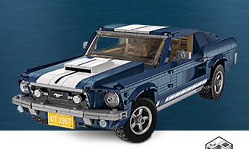 a peek at the lego creator expert ford mustang gt 10265. Black Bedroom Furniture Sets. Home Design Ideas
