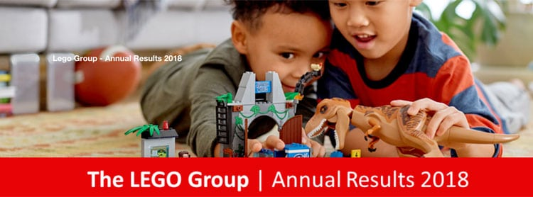 LEGO Bounces Back from Dull 2017 with Positive Growths in 2018 Annual Results
