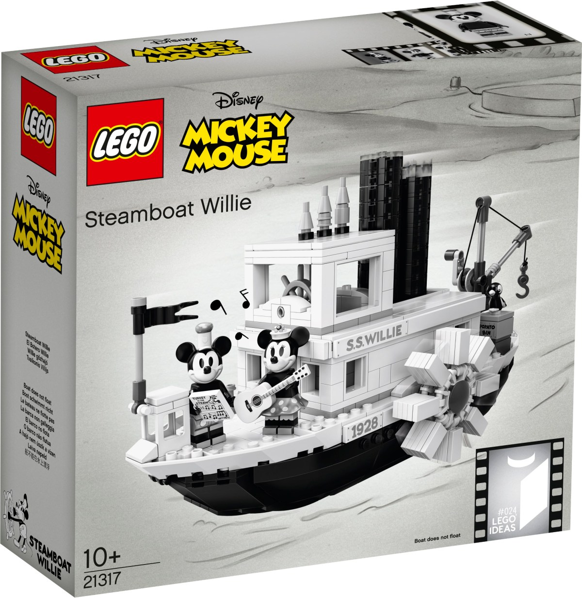 LEGO Ideas Releases Steamboat Willie (21317) Designer Video