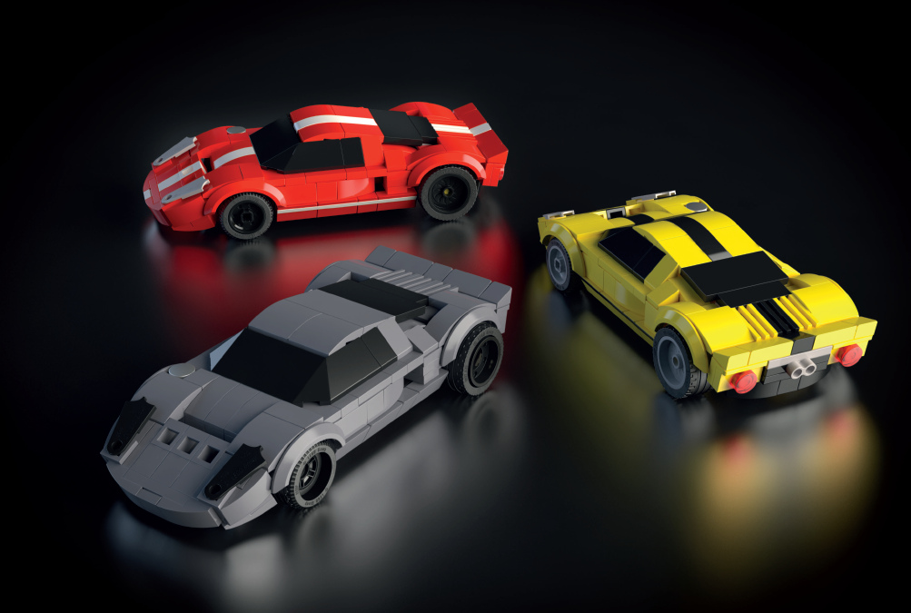 """Custom-Build Cool Cars with New Reference Guidebook: """"How to Build Dream Cars with LEGO Bricks"""""""