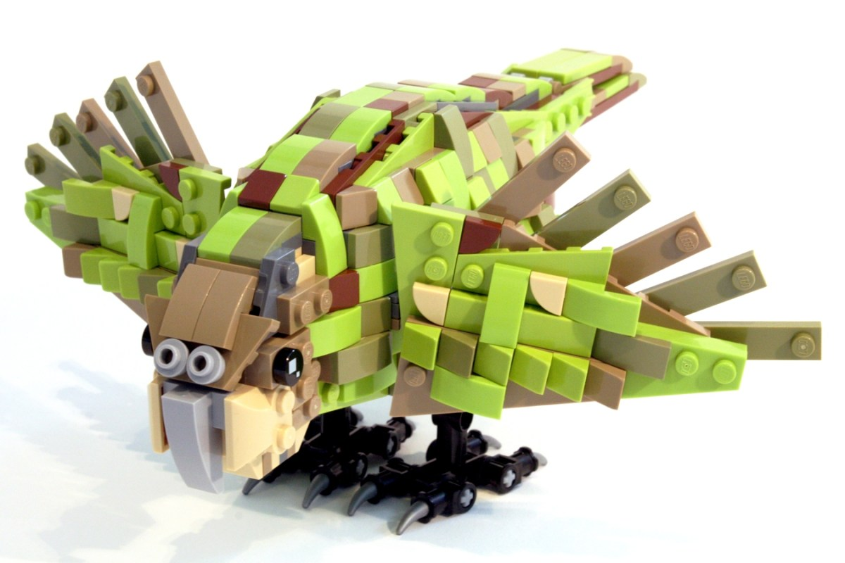 Fiffh LEGO Ideas 10K Passer for First 2019 Review Stage: Endangered New Zealand Kakapo by FlancrestEnterprises