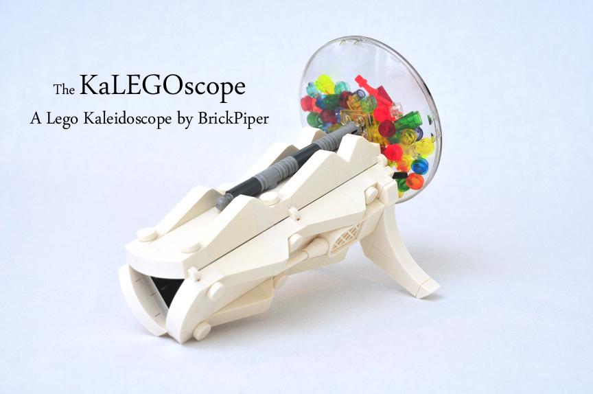 """""""KaLEGOscope"""": Uniquely Designed Brick-Built Kaleidoscope Needs Support on LEGO Ideas"""
