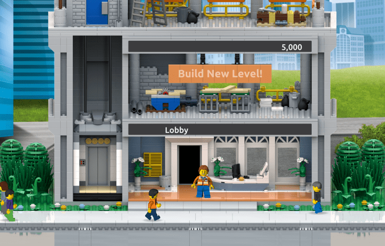 """New LEGO Mobile App """"LEGO Tower Game"""" Announced, Coming this Summer"""