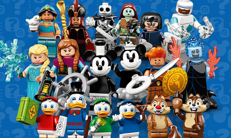 LEGO Officially Reveals the LEGO Disney Collectible Minifigures Series 2 (71024)
