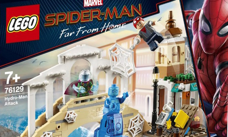 Early Look Lego Marvel Superheroes Spider Man Far From Home Sets