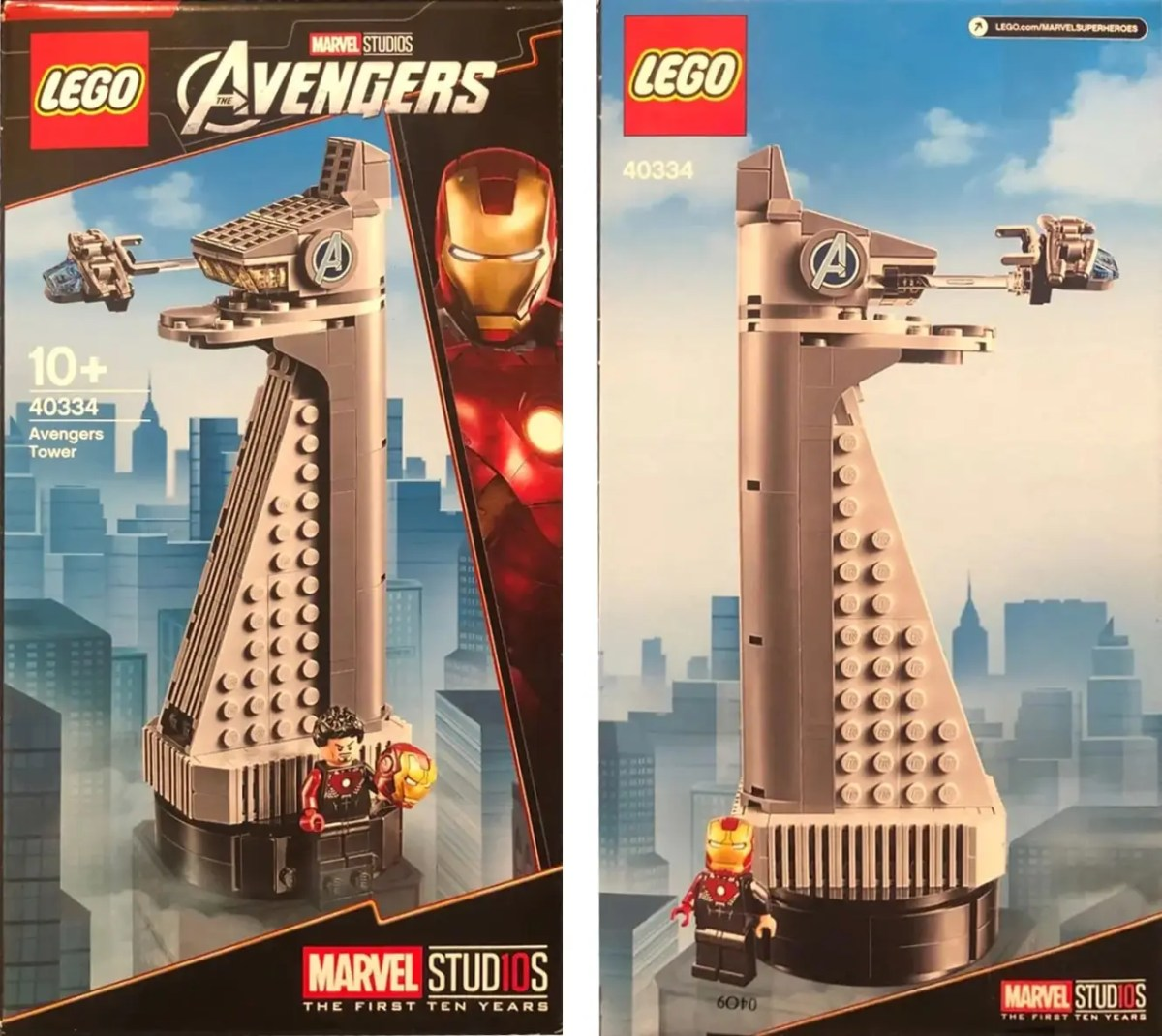 """Gift With Purchase"" Promotional LEGO Marvel Avengers Tower Set (40334) First Seen in Spain LEGO Store Flyer"