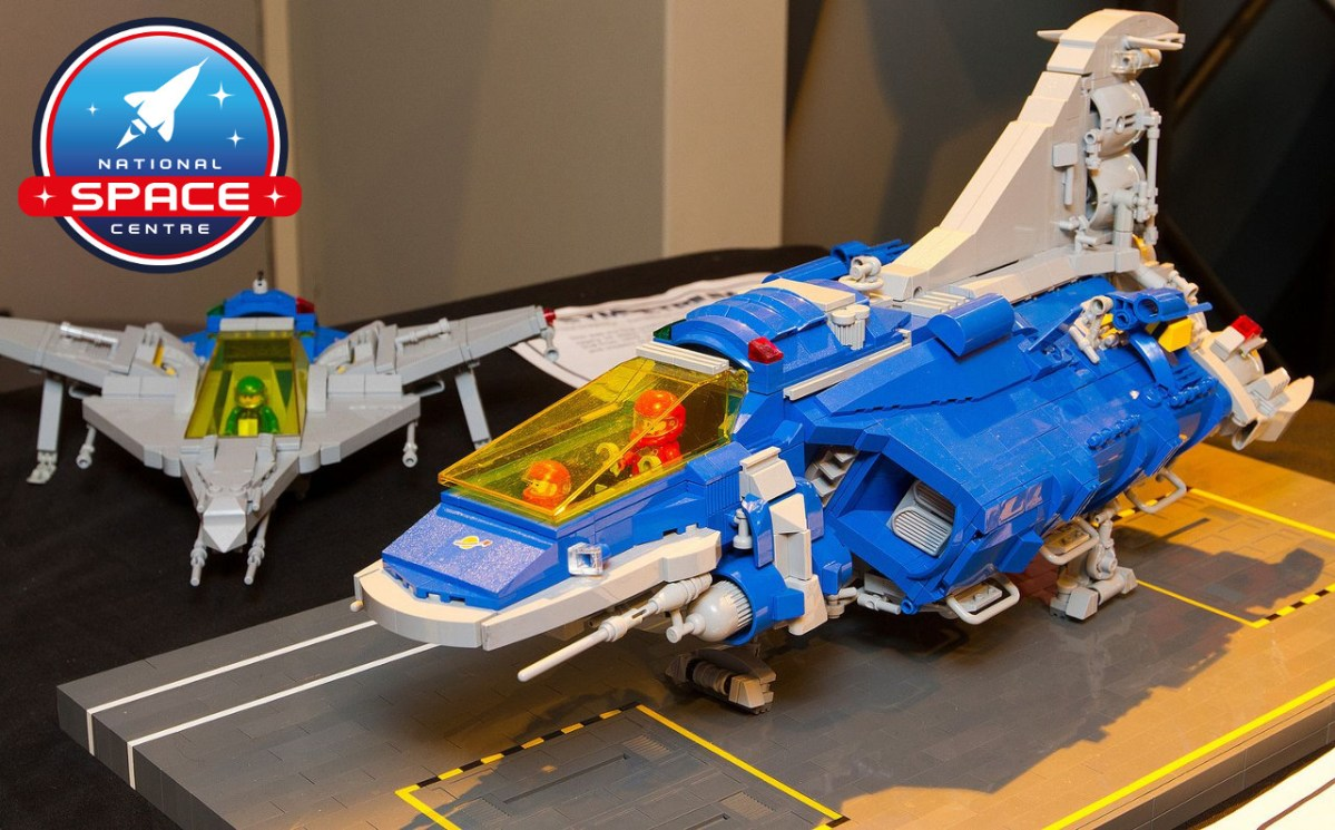 """LEGO Event """"Brickish Weekend"""" at UK's National Space Centre in Leicester this Saturday"""