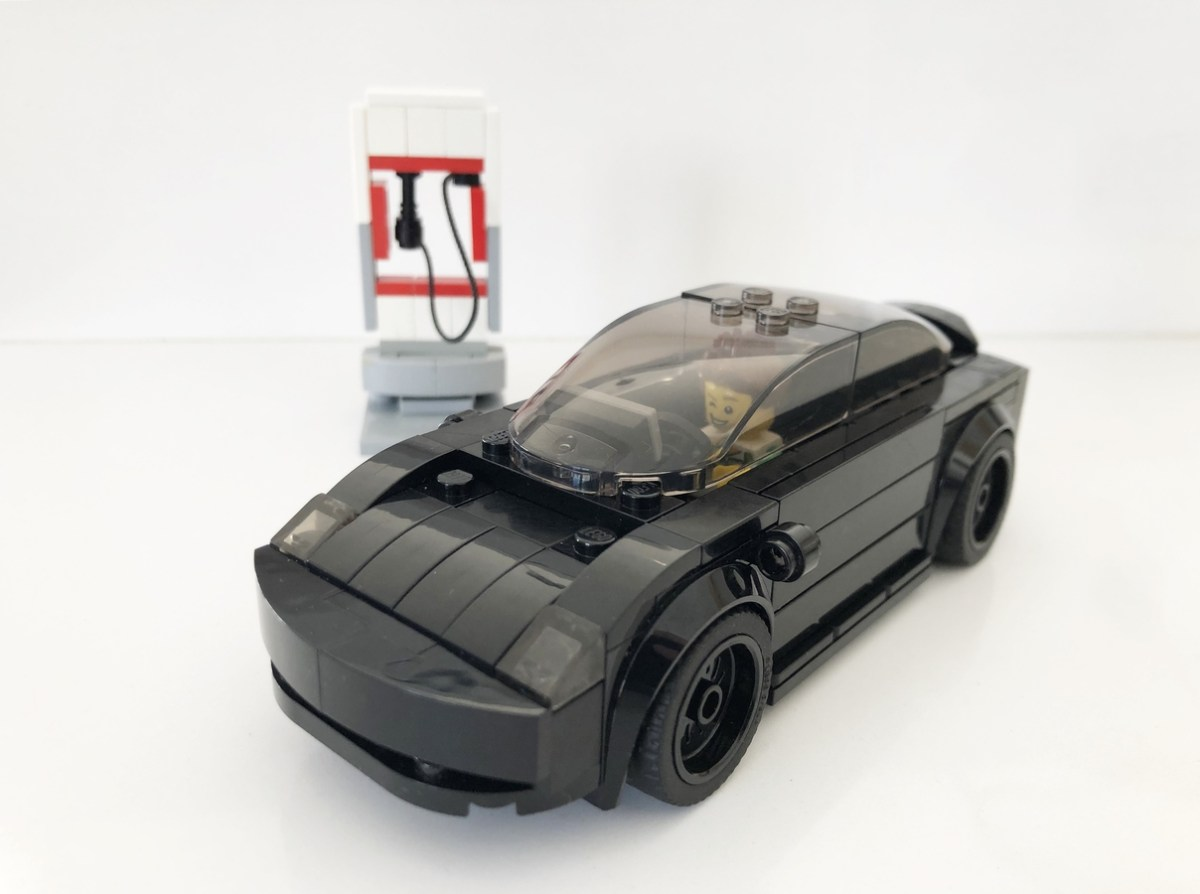 Tired of Conventional Car Submissions to LEGO Ideas? Try Supporting pfunkadunk's Speed Champions-Scale Tesla Model 3