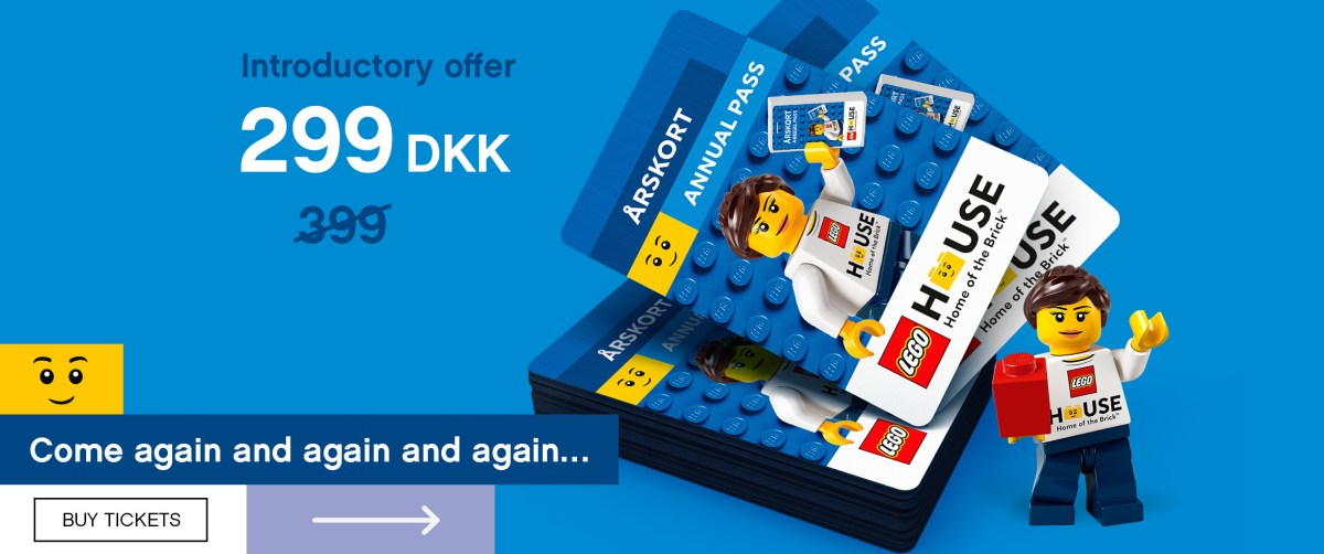 Annual Passes Now Available for LEGO House in Billund