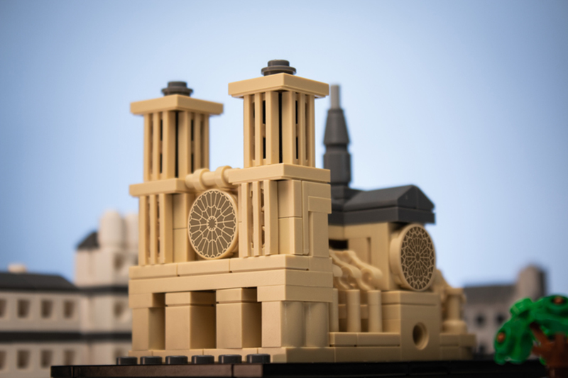 Here's How a LEGO Fan Can Help in Rebuilding the Notre-Dame Cathedral